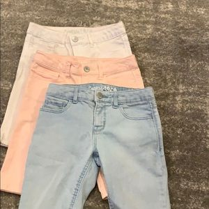 GAP Bottoms - Gap girls shorts - sold as a bumdle